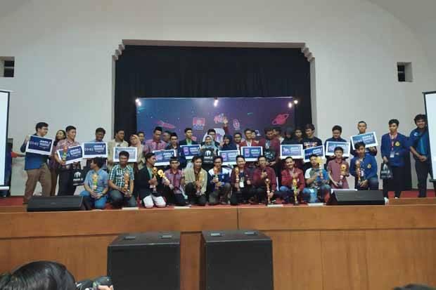 Mendominasi di Final, Tim AMCC Amikom Juara MAGE 5 di ITS